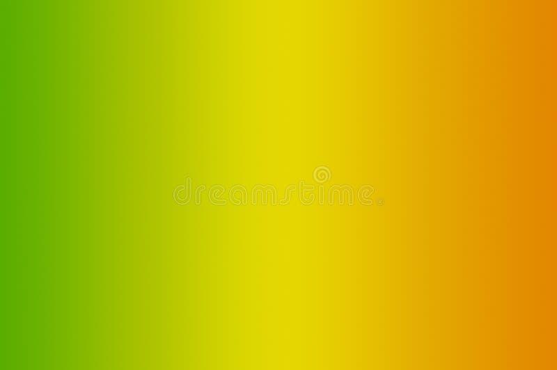 梯度金子和绿色两音色背景 皇族释放例证