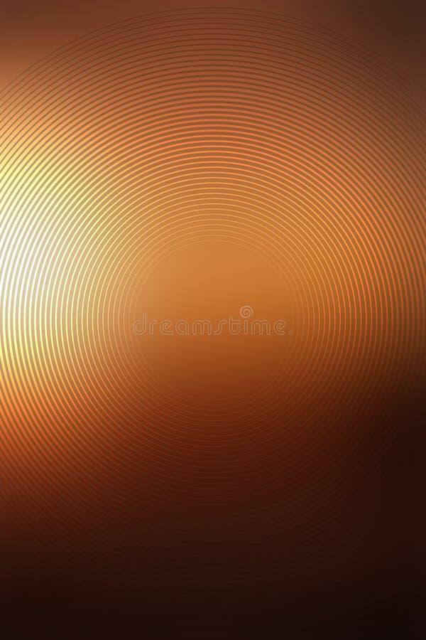 梯度金子纹理辐形迷离 轻的板料 向量例证