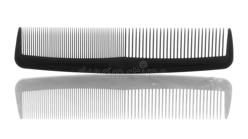 梳子头发塑料 免版税图库摄影