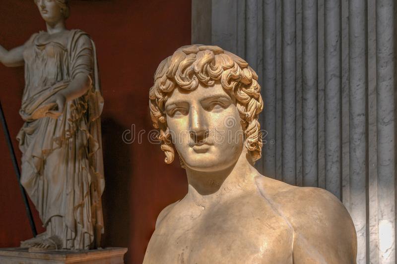 梵蒂冈博物馆-梵蒂冈 库存照片
