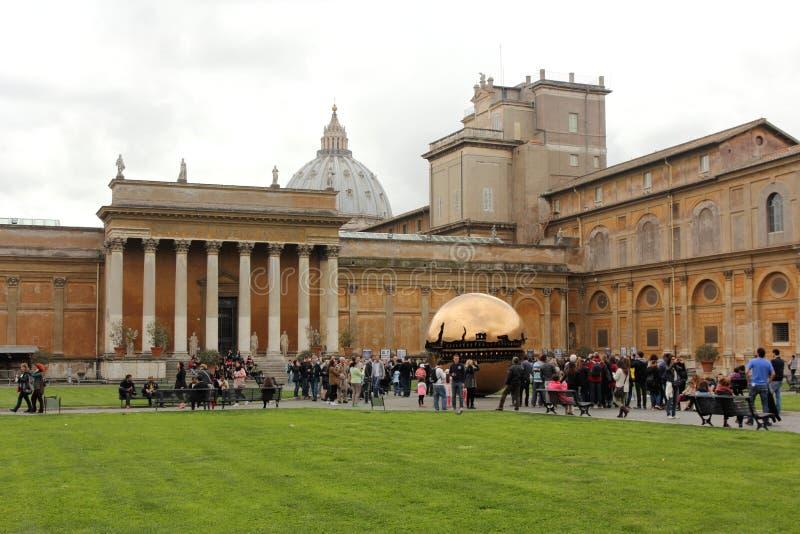 梵蒂冈博物馆 罗马 免版税库存图片