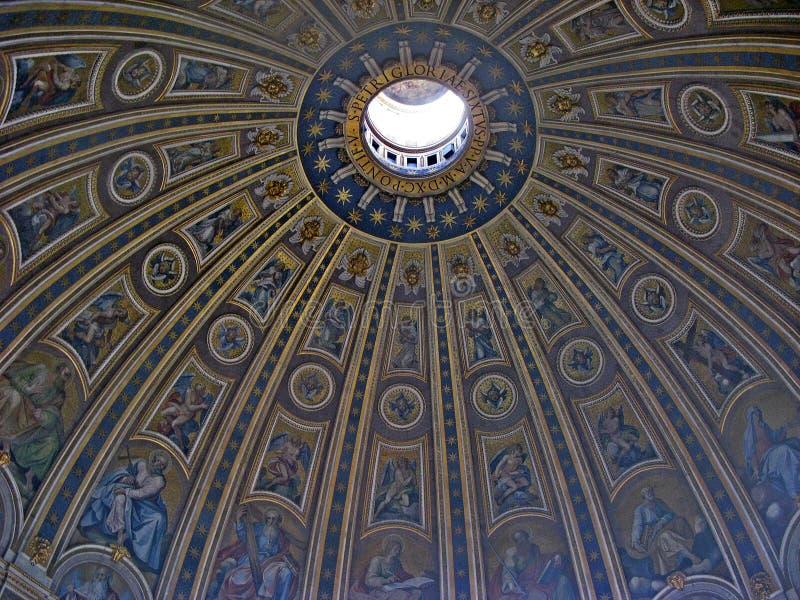 梵蒂冈圆顶 库存图片