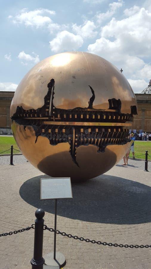 梵蒂冈在罗马在一个晴天 免版税库存图片