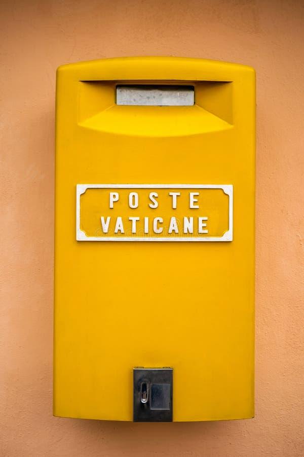梵蒂冈岗位箱子 图库摄影