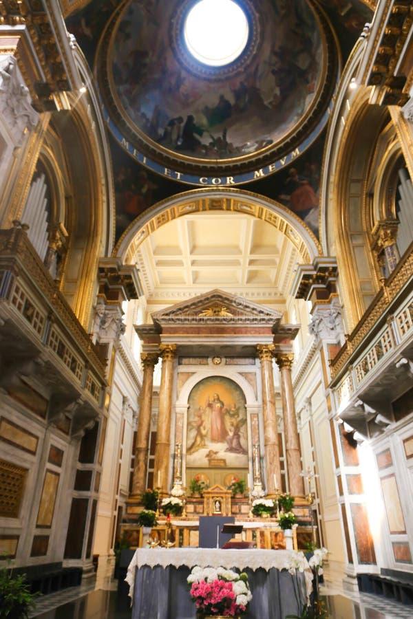 梵蒂冈法坛  免版税库存图片