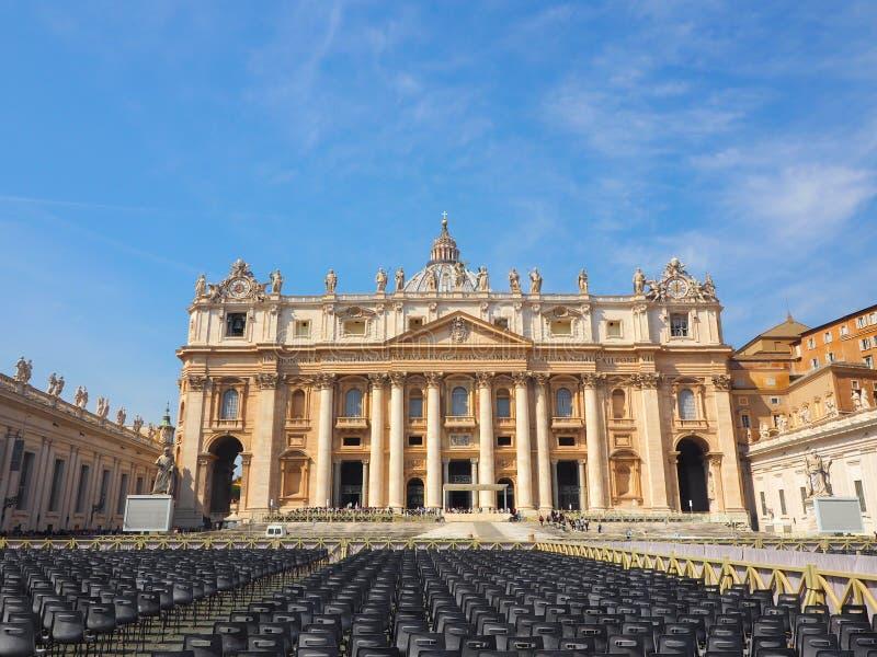 梵蒂冈,意大利的世界遗产名录有经典之作的 库存照片