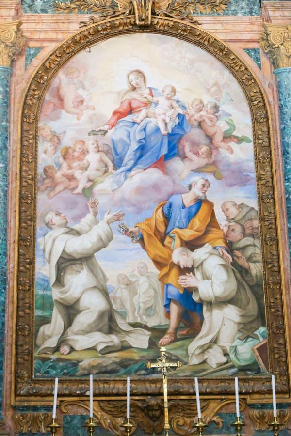 梵蒂冈,意大利艺术  图库摄影