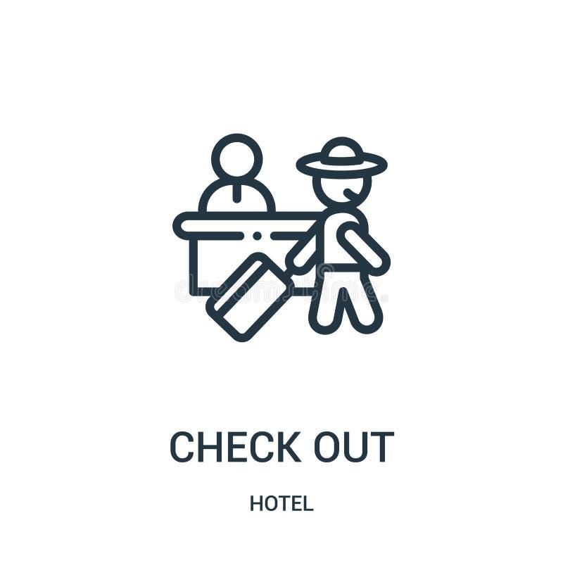 检查从旅馆汇集的象传染媒介 稀薄的线检查概述象传染媒介例证 皇族释放例证