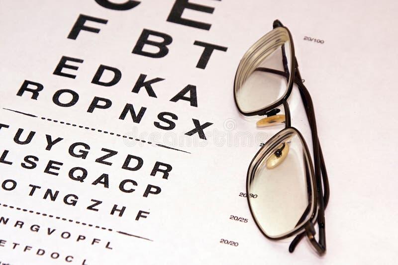 检查眼睛 免版税图库摄影