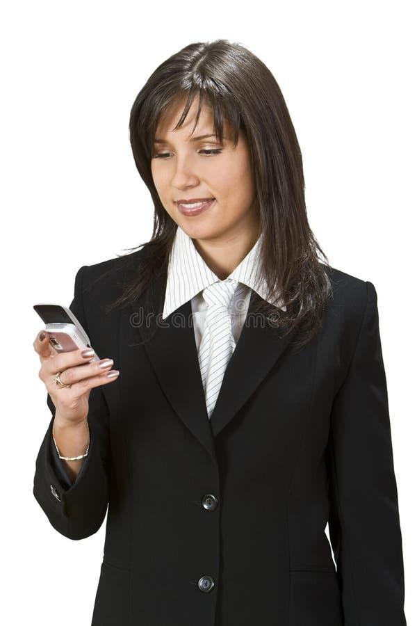 检查移动电话 图库摄影