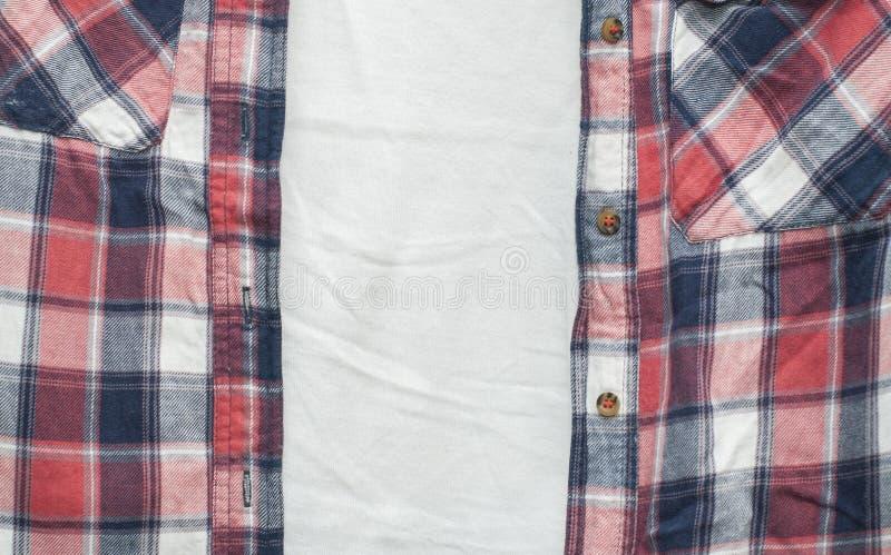 棉布衬衣 免版税库存图片