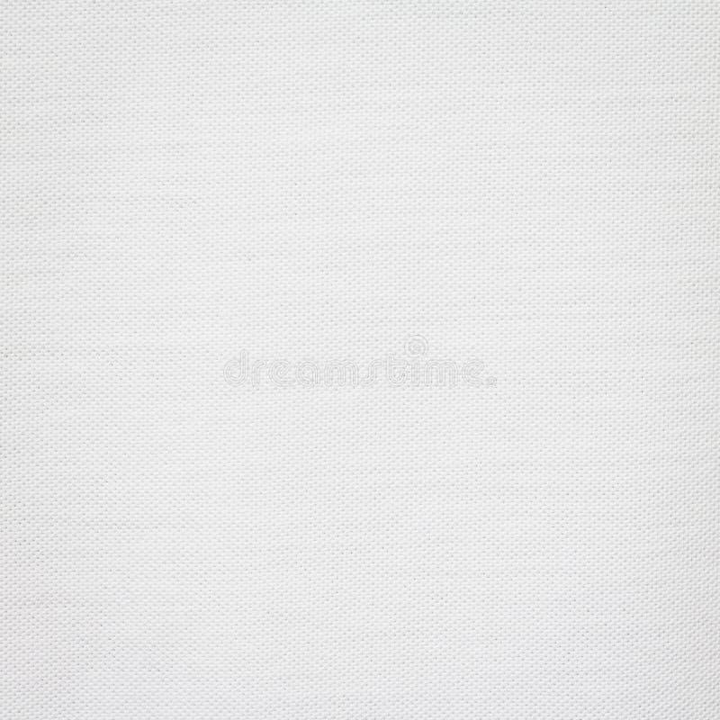 棉花纹理背景 白色织品材料 空白的纺织品表面 库存照片