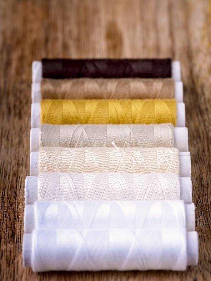棉花缝合 免版税图库摄影