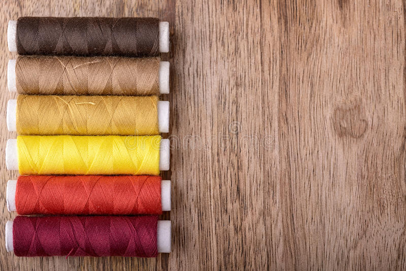 棉花缝合 图库摄影