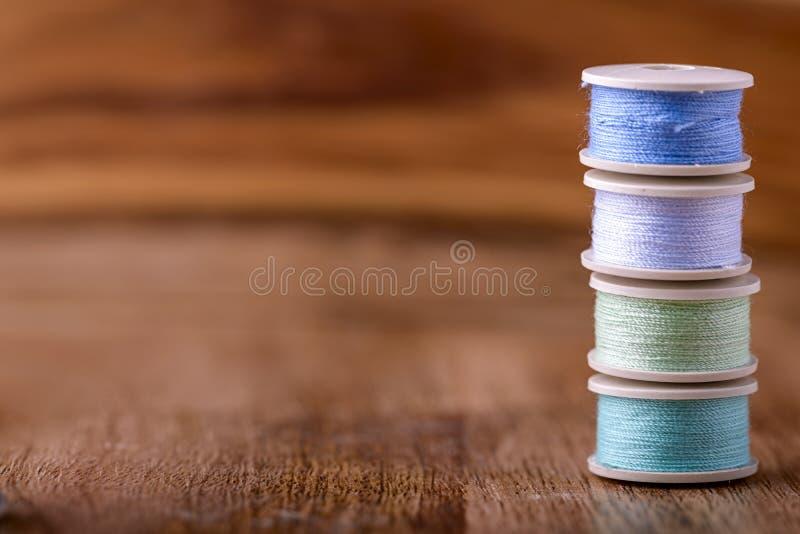 棉花缝合 免版税库存图片