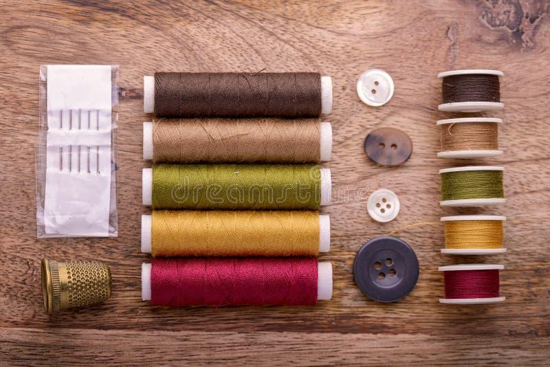 棉花缝合 库存图片