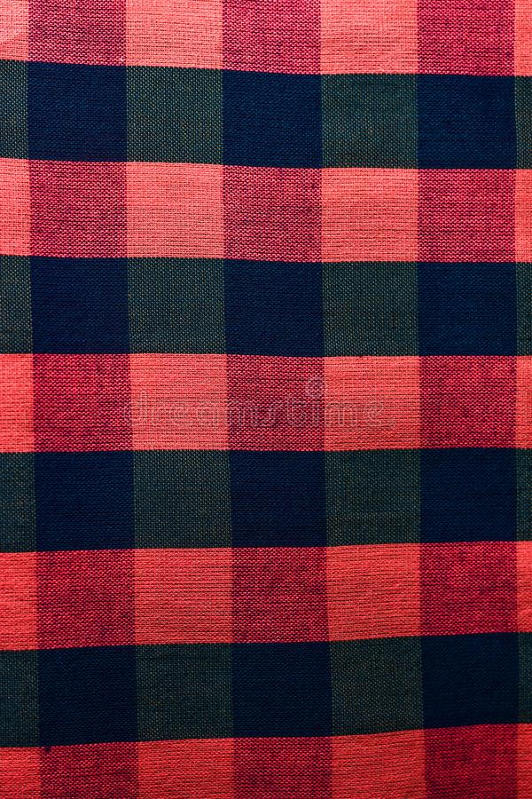 棉花被编织的样式 免版税库存照片