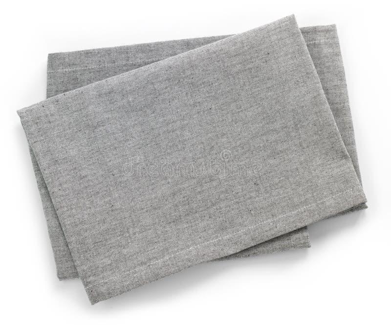 棉花餐巾 图库摄影