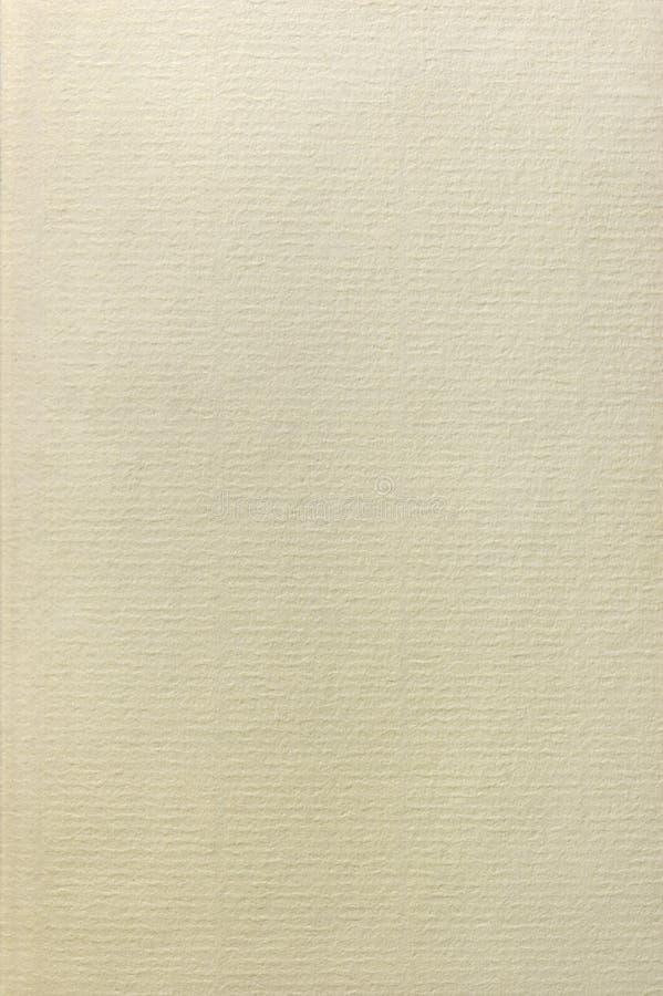 棉花破布纸纹理,自然织地不很细背景,垂直的拷贝空间米黄乌贼属,大详细的特写镜头 免版税图库摄影