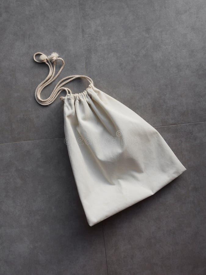 棉花洗衣店袋子 库存图片