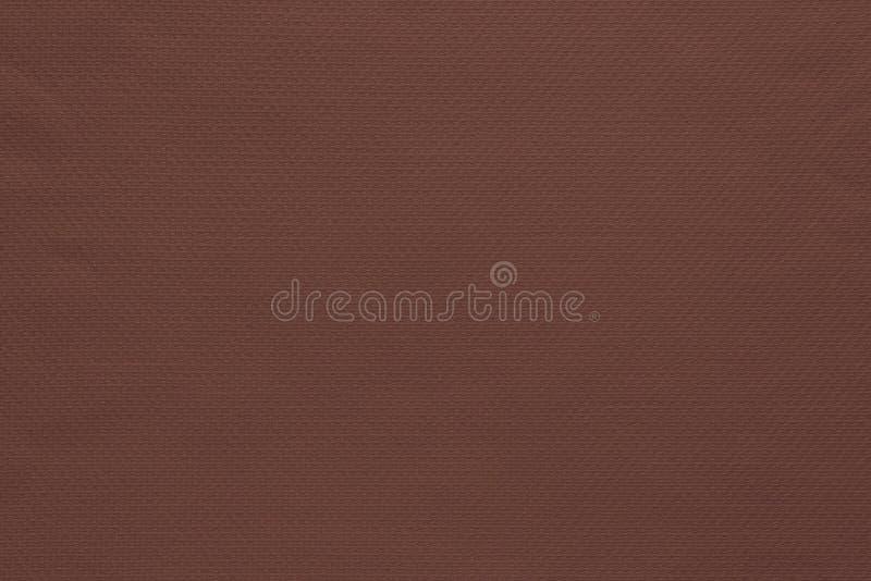 棉织物黑褐色颜色纹理和背景  免版税图库摄影