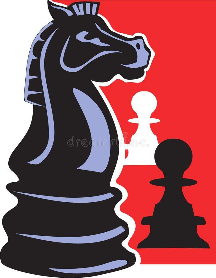 棋典当 向量例证