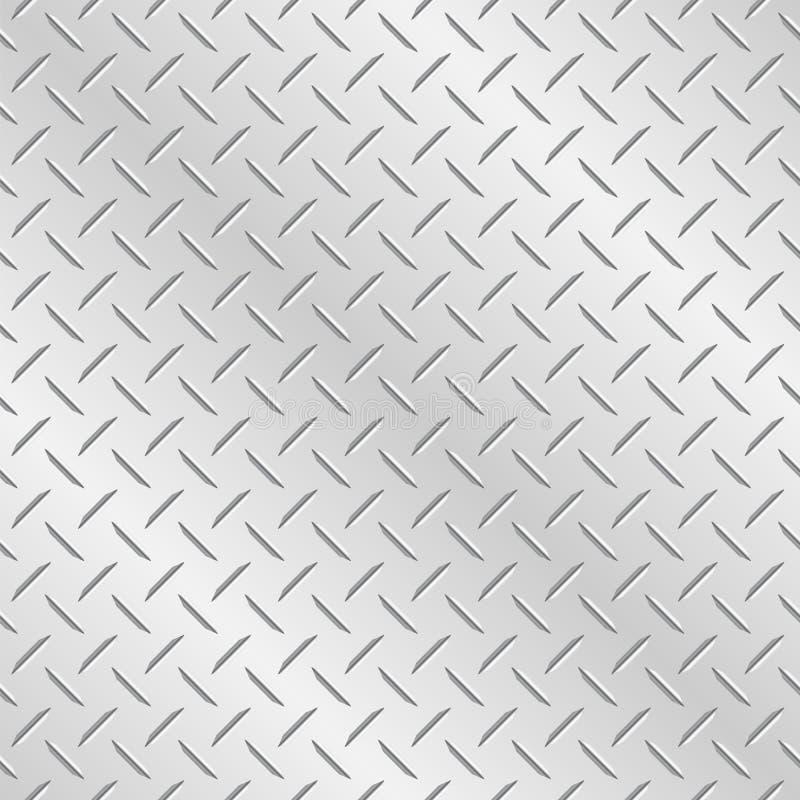 棋子板材金属背景 向量例证