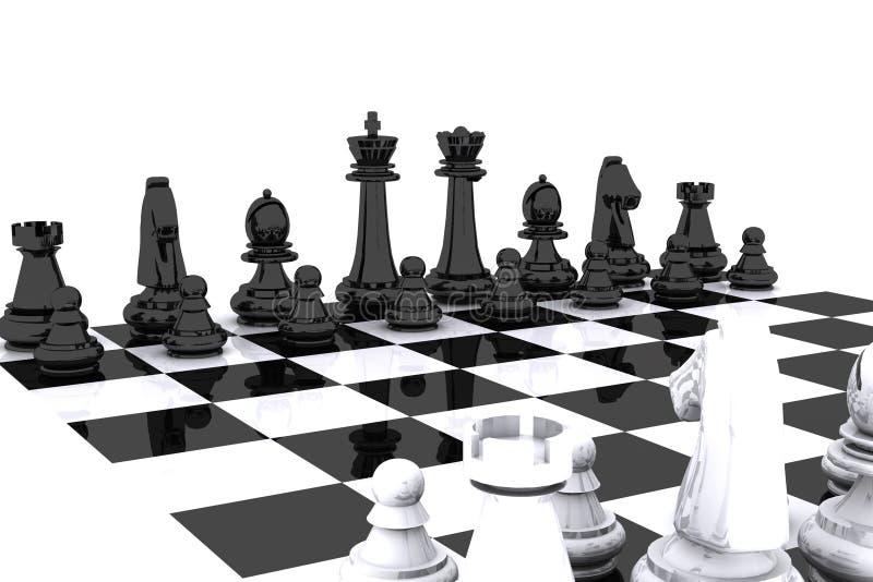 棋日 库存例证