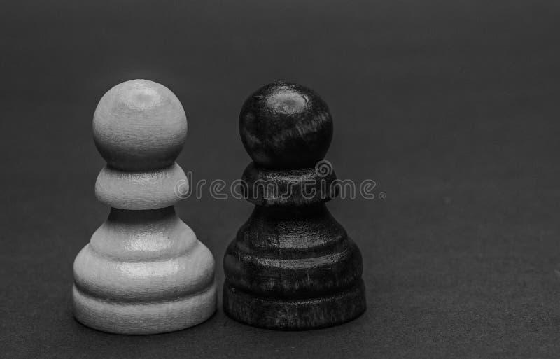 棋枰和棋子 库存照片