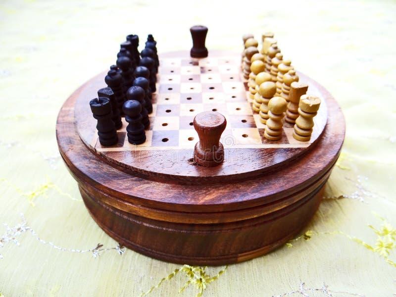 棋枰 图库摄影