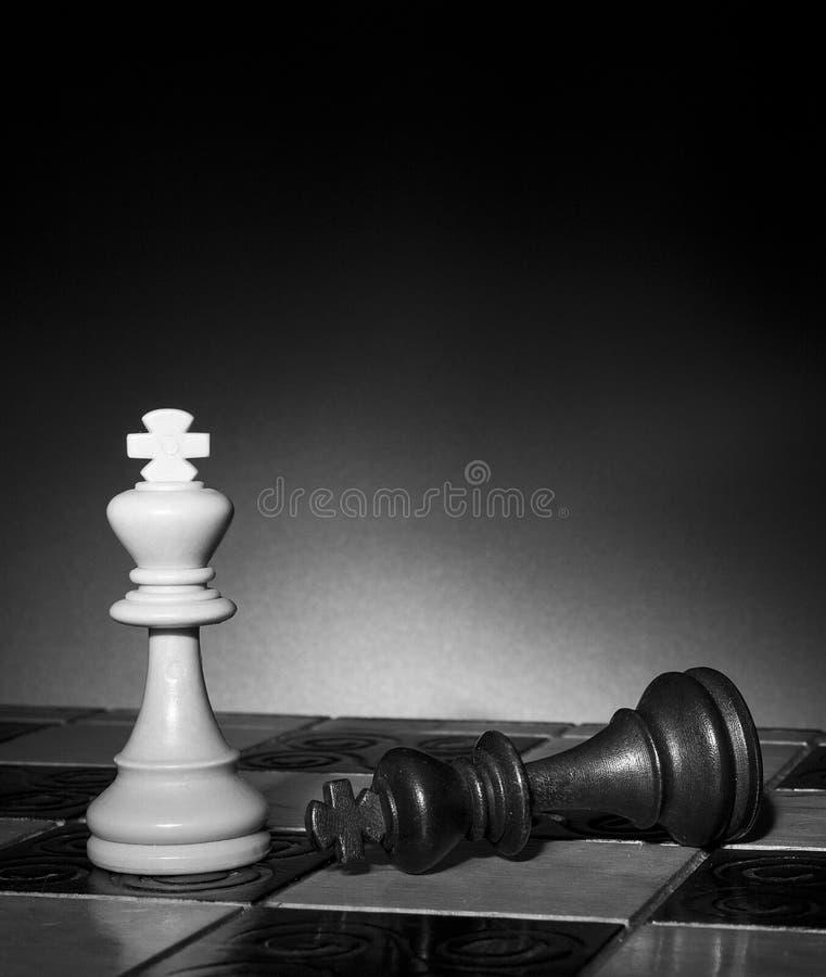 棋棋枰协商的典当二 免版税库存图片