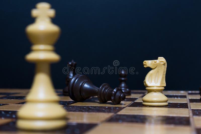 棋棋枰协商的典当二 图库摄影