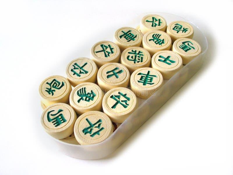 棋汉语 免版税图库摄影