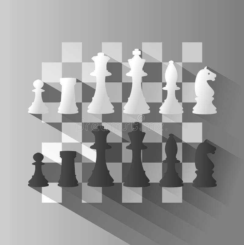 棋的例证 向量例证