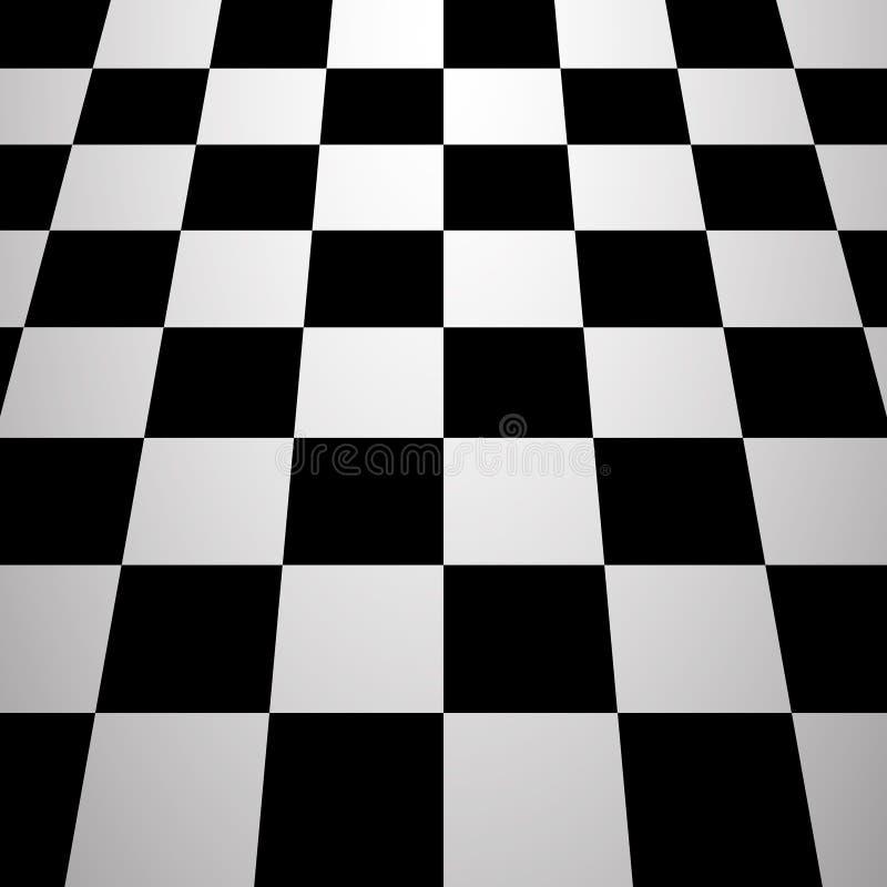 棋盘背景 库存例证