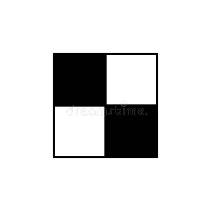 棋盘象 棋的元素流动概念和网apps例证的 网站设计的稀薄的线象和 向量例证