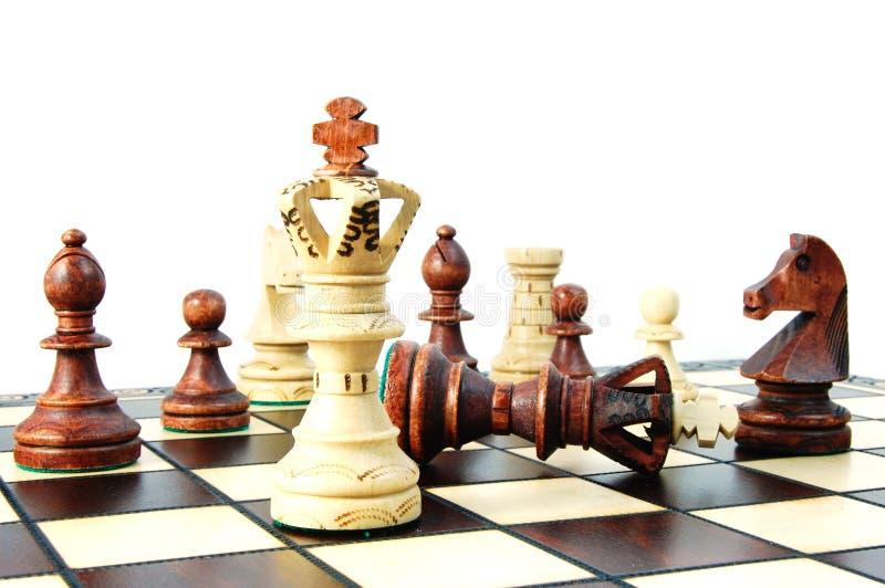 棋竞争 免版税库存照片
