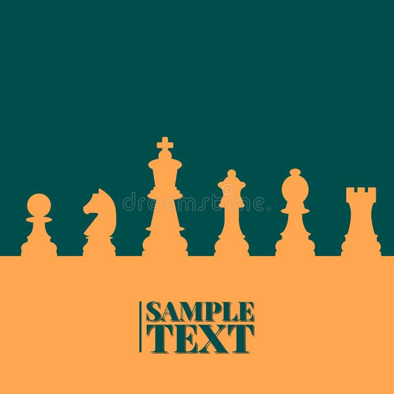 棋背景,传染媒介例证 皇族释放例证