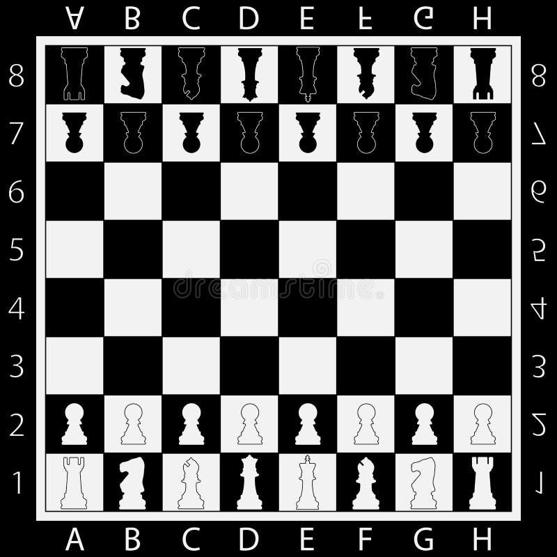 棋表网络游戏全部应用程序概念,战略比赛 库存例证