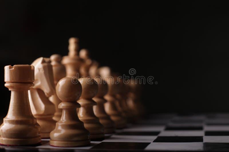 棋,关闭图象 免版税库存图片