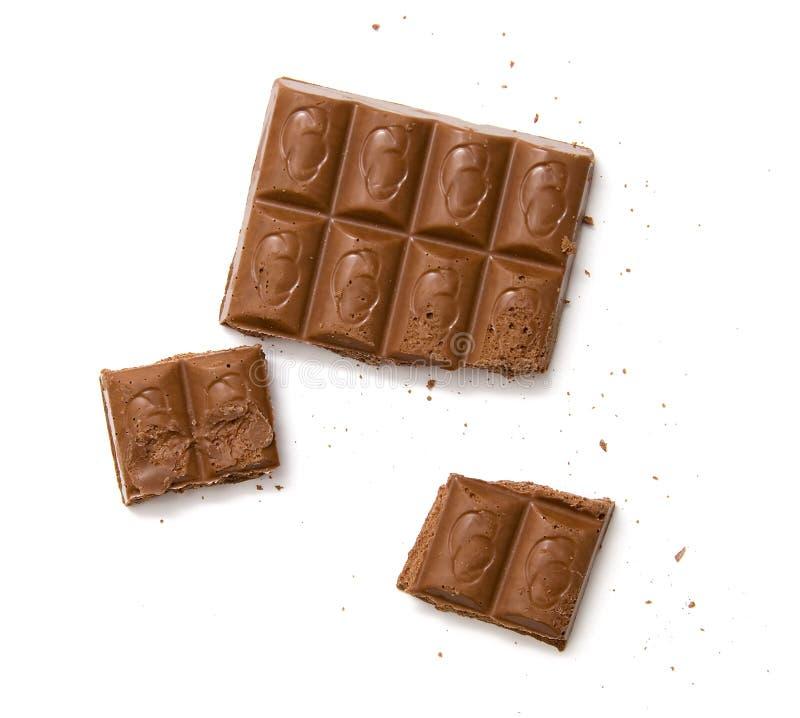 棒巧克力 免版税库存照片