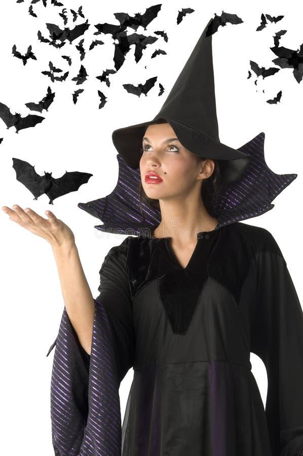 棒巫婆 免版税库存图片