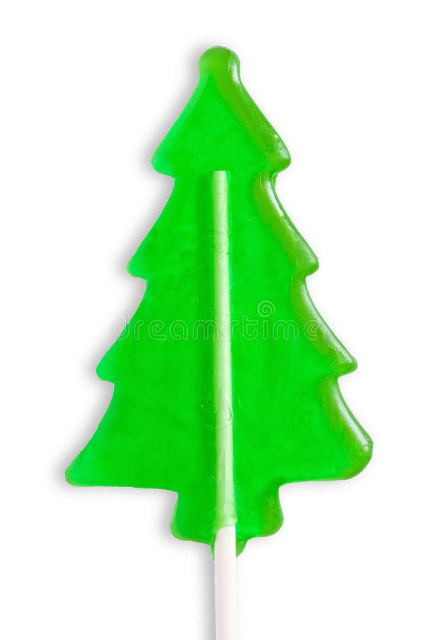 棒棒糖形状结构树 免版税库存图片