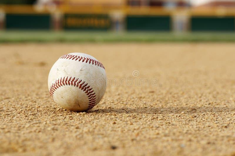 棒球耕地 库存图片