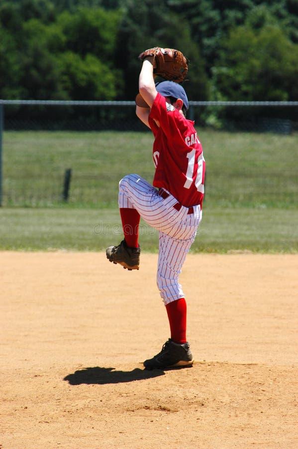棒球联盟一点 免版税图库摄影