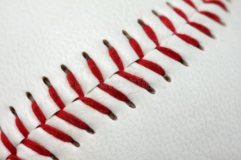 棒球详细资料 库存图片