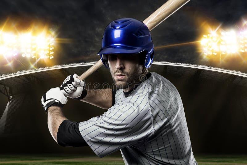 棒球运动员 免版税库存照片