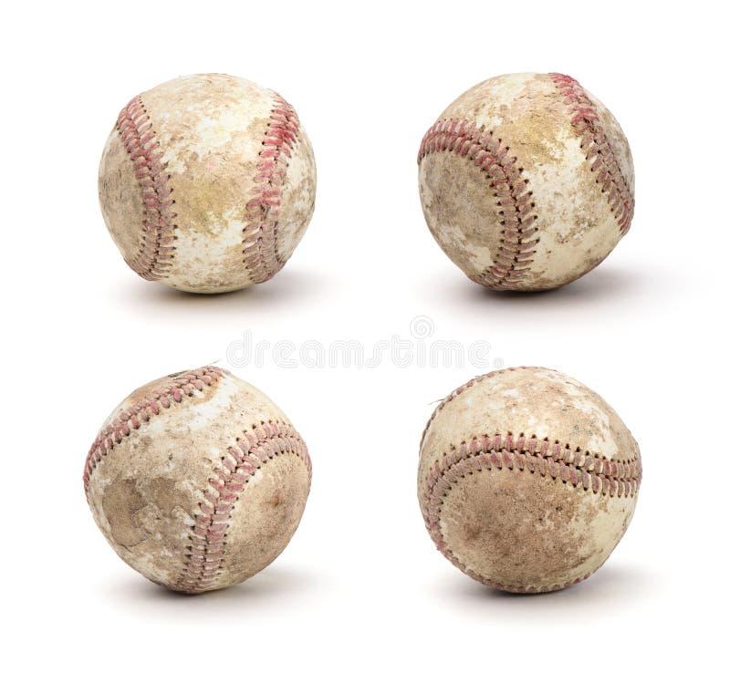 棒球集合 库存照片
