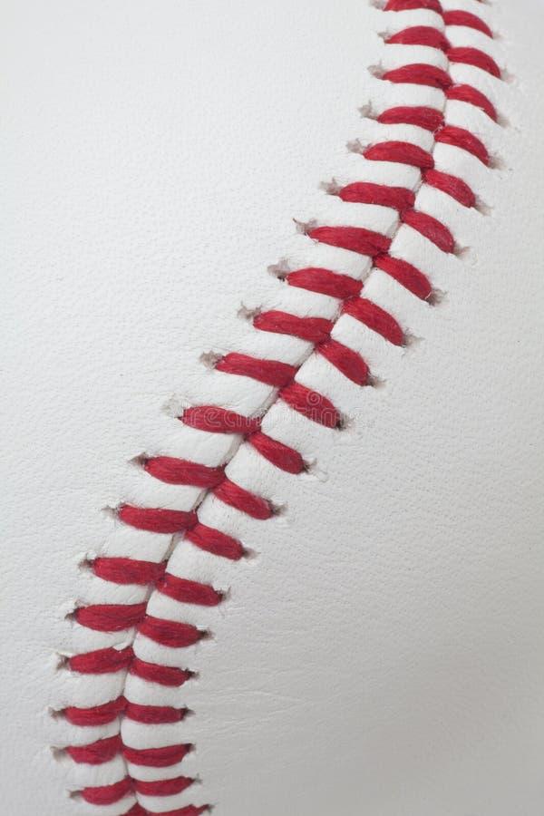 棒球细节 库存图片