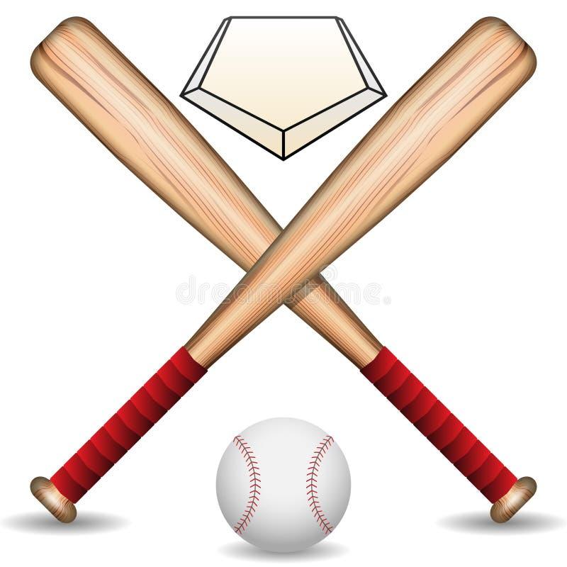 棒球 皇族释放例证